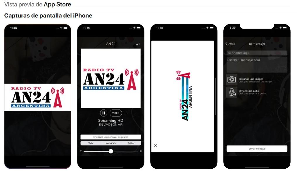 Descargá la app AN24 para Iphone